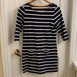 Boden navy striped tunic. 6R